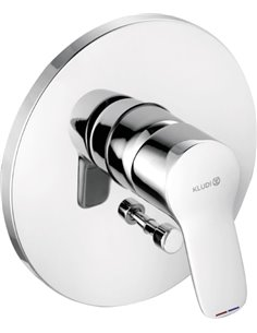 Kludi Bath Mixer With Shower Pure&Easy 374190565 - 1