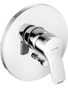 Kludi jaucējkrāns vannai ar dušu Pure&Easy 374190565 - 1