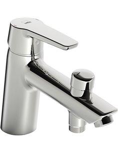 Oras jaucējkrāns vannai ar dušu Saga 3946F - 1