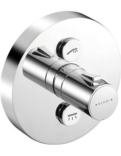 Kludi termostata jaucējkrāns vannai ar dušu Push 388120538 - 1