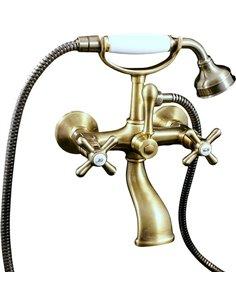 Rav Slezak jaucējkrāns vannai ar dušu Morava retro - 1