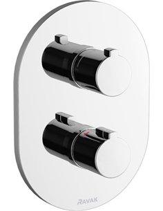 Ravak termostata jaucējkrāns vannai ar dušu Chrome CR 063.00 - 1