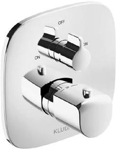 Kludi termostata jaucējkrāns vannai ar dušu Ameo 418300575 - 1
