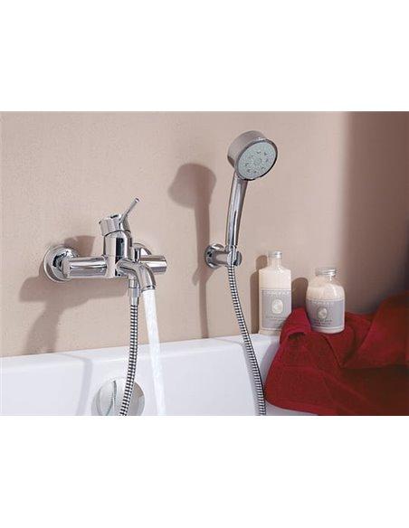 Grohe jaucējkrāns vannai ar dušu BauClassic 32865000 - 3
