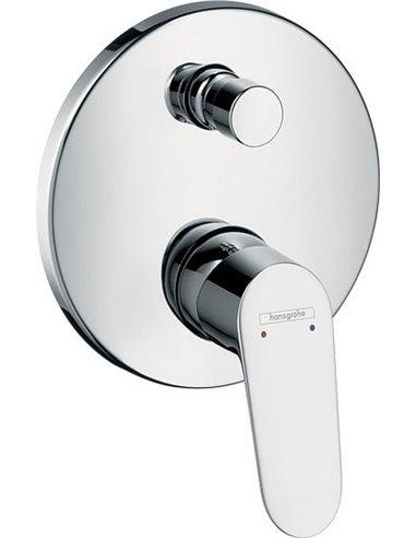 Hansgrohe jaucējkrāns vannai ar dušu Focus E2 31945000 - 1