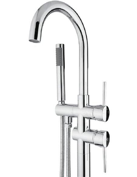 Timo jaucējkrāns vannai ar dušu Saona 2300/00Y-CR - 2