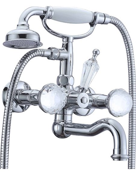 Boheme jaucējkrāns vannai ar dušu Brillante Presente 353 - 1