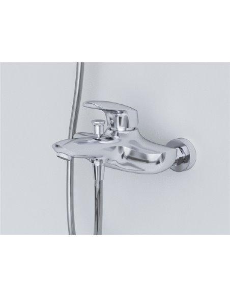 AM.PM jaucējkrāns vannai ar dušu Bliss L F5310032 - 3