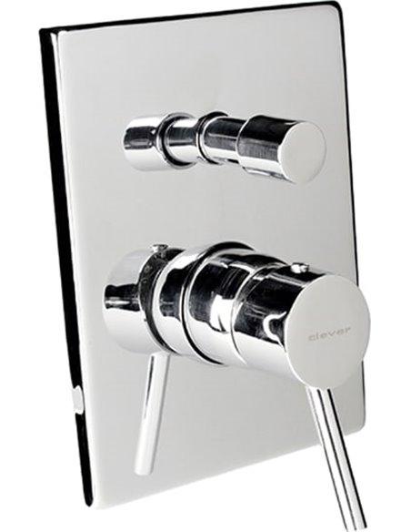 Clever jaucējkrāns vannai ar dušu Caiman Elegance 98730 - 1