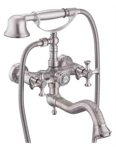 Zorg jaucējkrāns vannai ar dušu Antic A 7000W-SL - 1
