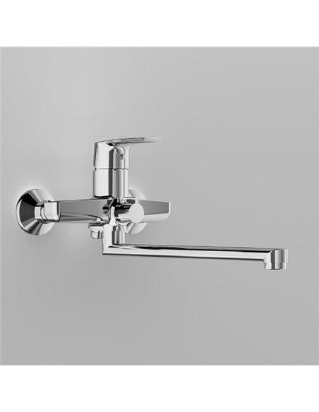 AM.PM jaucējkrāns vannai ar dušu Gem F90A90000 - 3