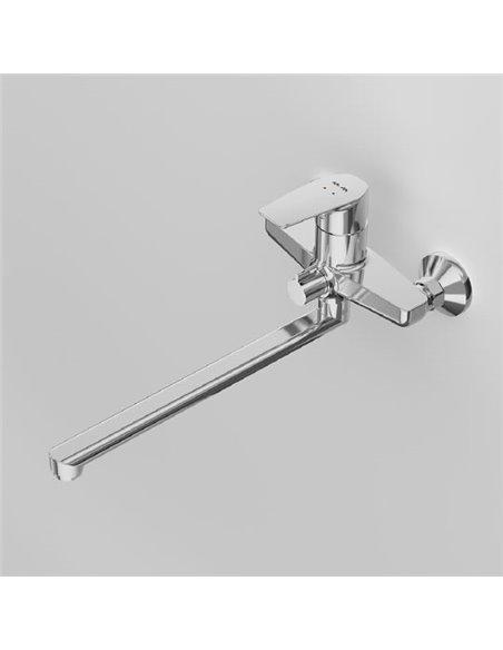 AM.PM jaucējkrāns vannai ar dušu Gem F90A90000 - 6