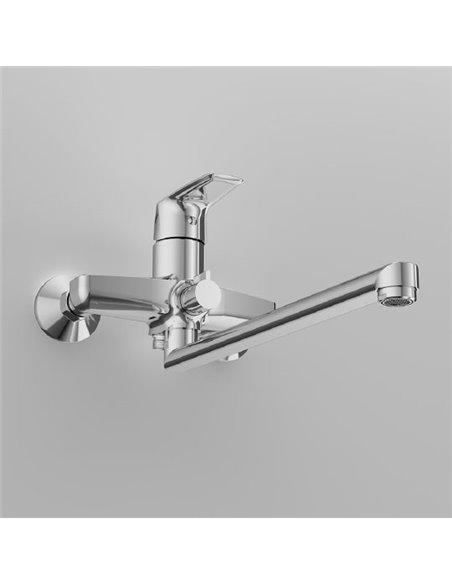 AM.PM jaucējkrāns vannai ar dušu Gem F90A90000 - 7