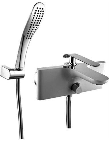 Lemark jaucējkrāns vannai ar dušu Melange LM4914CW - 1