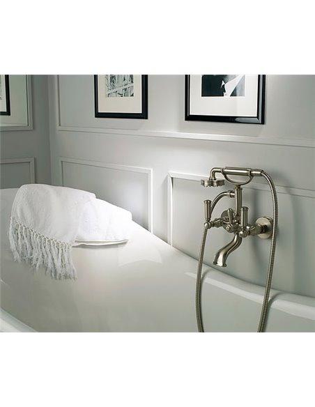 Bossini jaucējkrāns vannai ar dušu Liberty Z001103 BR - 3