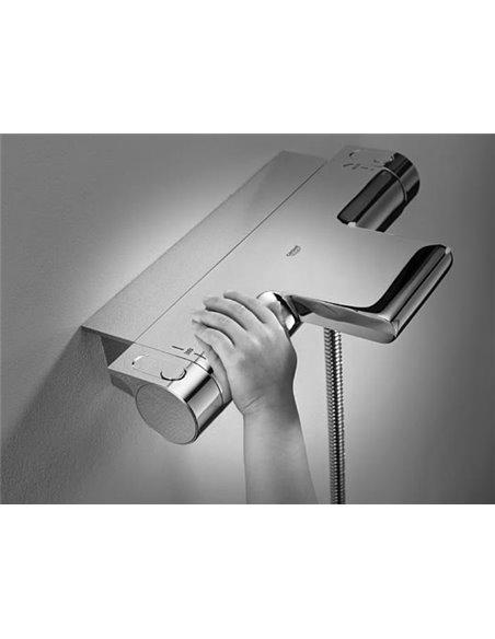 Grohe termostata jaucējkrāns vannai ar dušu Grohtherm 2000 New 34464001 - 8