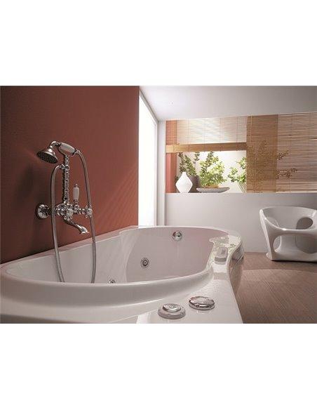 Gattoni jaucējkrāns vannai ar dušu Vivaldi 12001GRС0 - 2