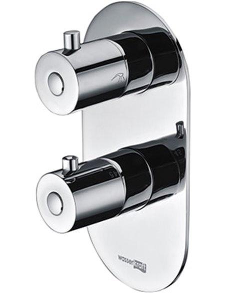 Wasserkraft termostata jaucējkrāns vannai ar dušu Berkel 4833 - 1