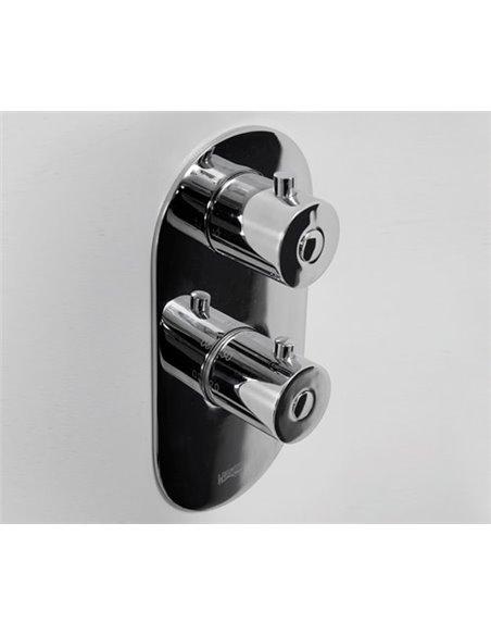 Wasserkraft termostata jaucējkrāns vannai ar dušu Berkel 4833 - 3