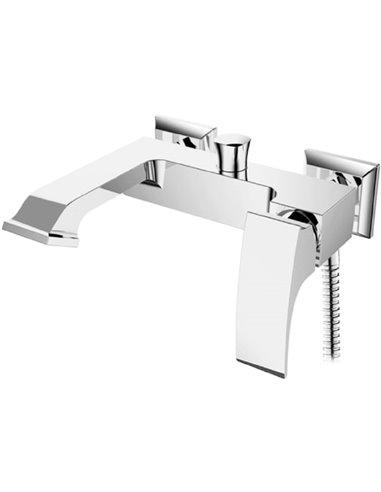 Raiber jaucējkrāns vannai ar dušu Lagos R1303 - 1