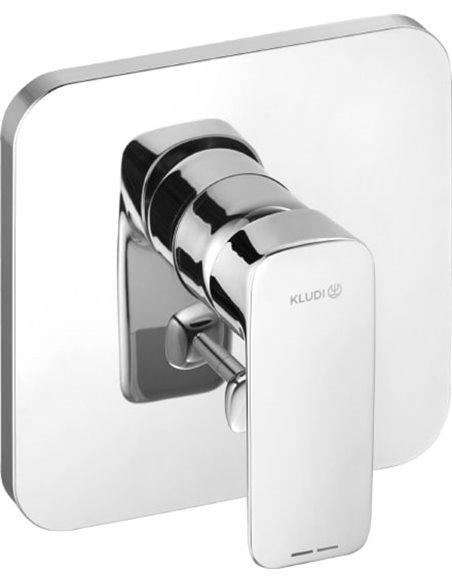 Kludi jaucējkrāns vannai ar dušu Pure&Style 404190575 - 1