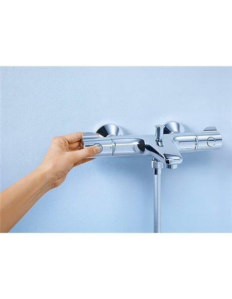 Grohe termostata jaucējkrāns vannai ar dušu Grohtherm 800 34564000 - 4