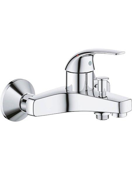Grohe jaucējkrāns vannai ar dušu BauCurve 23599000 - 1