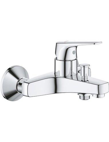 Grohe jaucējkrāns vannai ar dušu BauFlow 23601000 - 1