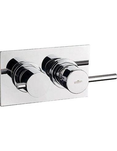 Webert jaucējkrāns vannai ar dušu Elio EL860101015 - 1
