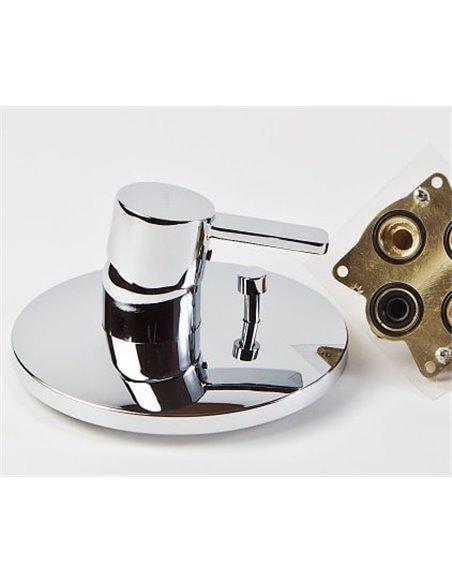 Kludi jaucējkrāns vannai ar dušu Zenta 386500575 - 4