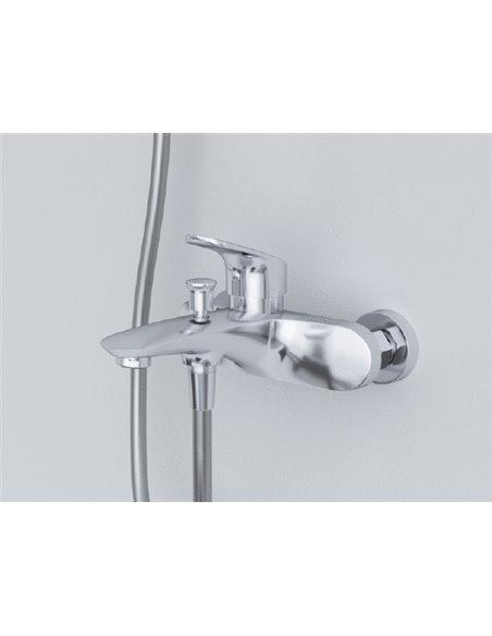 AM.PM jaucējkrāns vannai ar dušu Like F8010016 - 4