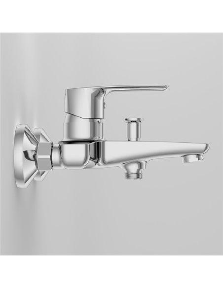 AM.PM jaucējkrāns vannai ar dušu Gem F90A10000 - 3