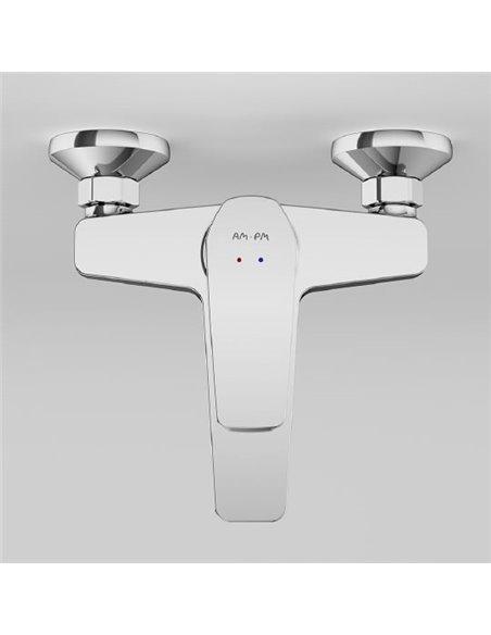 AM.PM jaucējkrāns vannai ar dušu Gem F90A10000 - 4