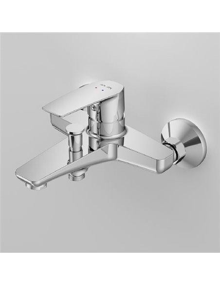 AM.PM jaucējkrāns vannai ar dušu Gem F90A10000 - 5