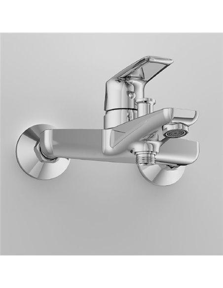 AM.PM jaucējkrāns vannai ar dušu Gem F90A10000 - 6