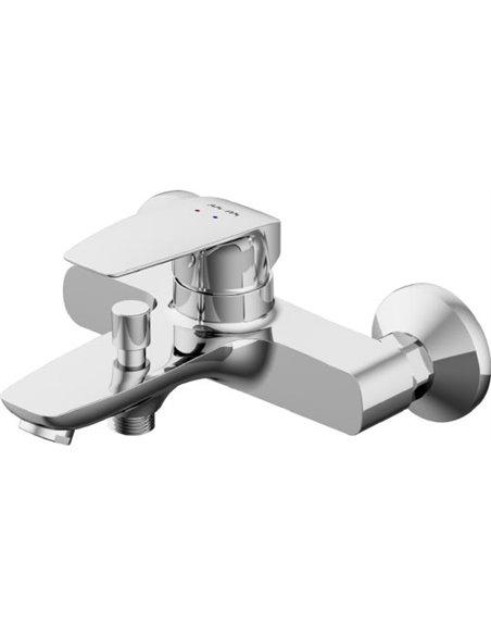 AM.PM jaucējkrāns vannai ar dušu Tender F45A10000 - 2