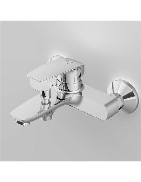AM.PM jaucējkrāns vannai ar dušu Tender F45A10000 - 3