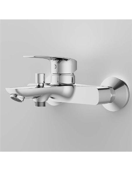 AM.PM jaucējkrāns vannai ar dušu Tender F45A10000 - 4