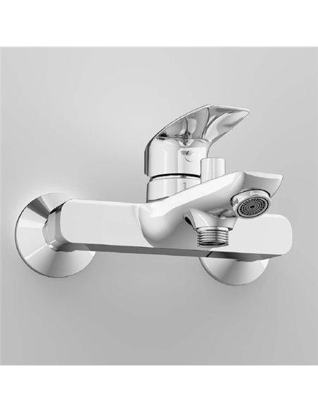 AM.PM jaucējkrāns vannai ar dušu Tender F45A10000 - 6