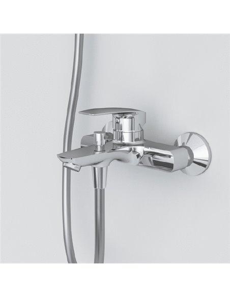 AM.PM jaucējkrāns vannai ar dušu Tender F45A10000 - 8