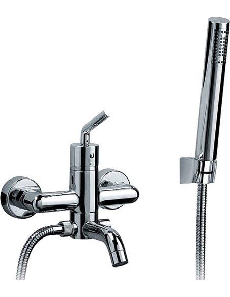 Paini jaucējkrāns vannai ar dušu Pixel 81CR100NEWKM - 1