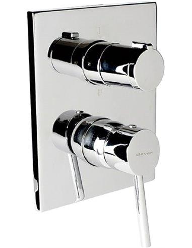 Clever jaucējkrāns vannai ar dušu Caiman Elegance 98746 - 1