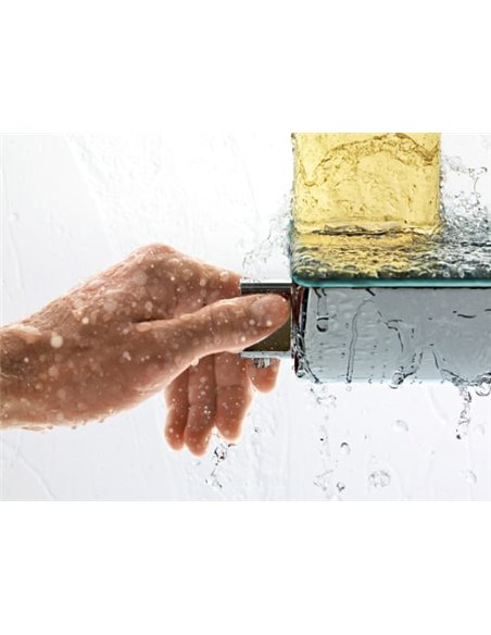 Hansgrohe termostata jaucējkrāns dušai Ecostat Select 13161000 - 8
