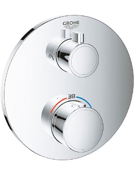Grohe termostata jaucējkrāns dušai Grohtherm 24076000 - 1