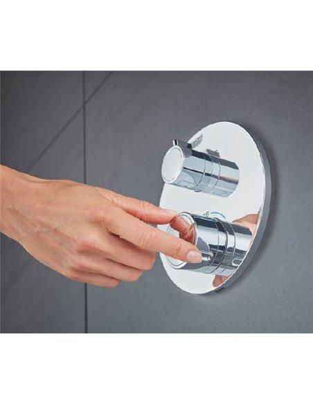 Grohe termostata jaucējkrāns dušai Grohtherm 24076000 - 3