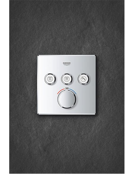 Grohe termostata jaucējkrāns dušai Grohtherm SmartControl 29126000 - 11