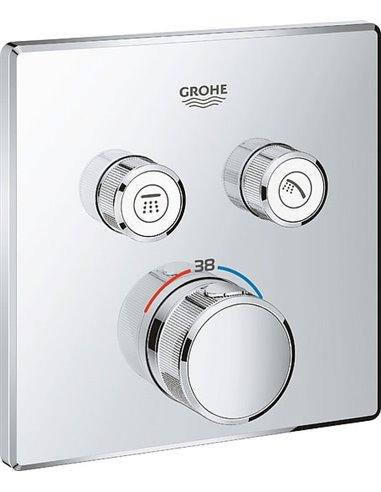 Grohe termostata jaucējkrāns dušai Grohtherm SmartControl 29124000 - 1