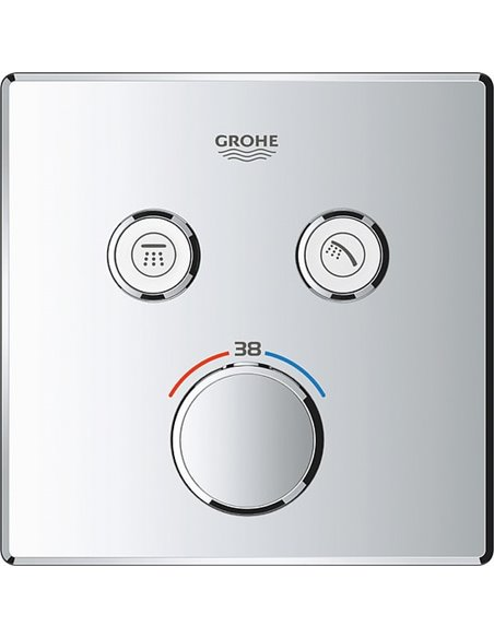Grohe termostata jaucējkrāns dušai Grohtherm SmartControl 29124000 - 3