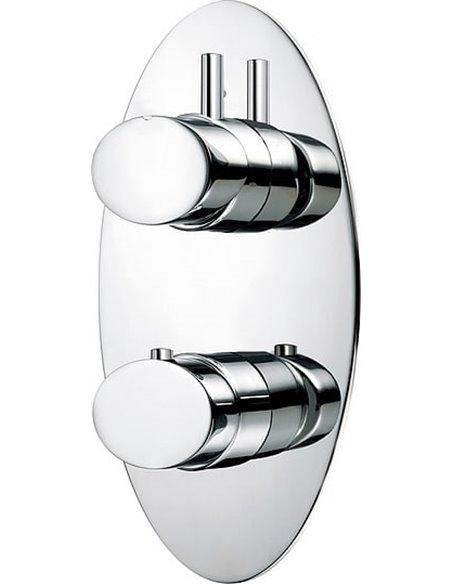 Bossini termostata jaucējkrāns dušai Oval Z006210 CR - 1