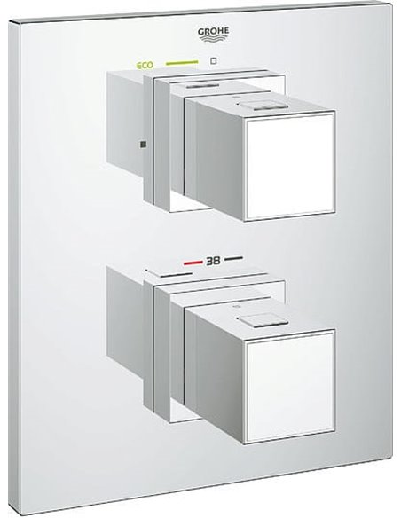 Grohe termostata jaucējkrāns dušai Grohtherm Cube 19959000 - 1